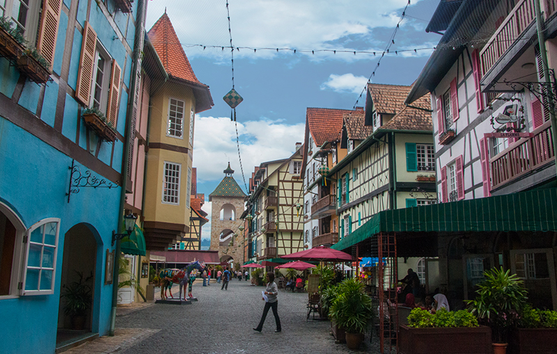streets of colmar french village