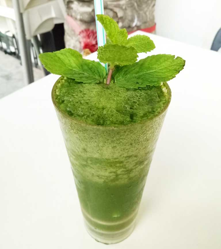 Green and healthy juice!