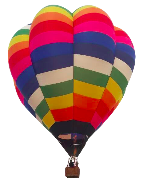 Colourful Hot Air Balloon