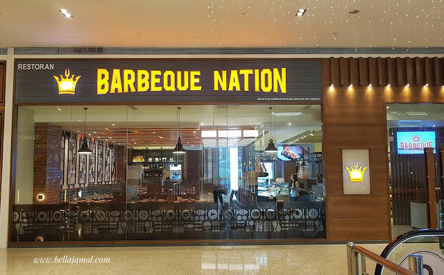 barbeque nation entrance