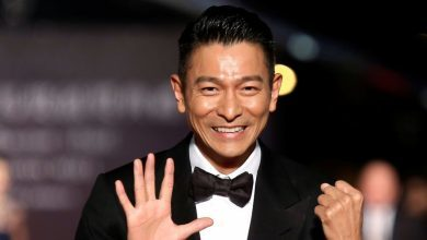 superstar Andy Lau