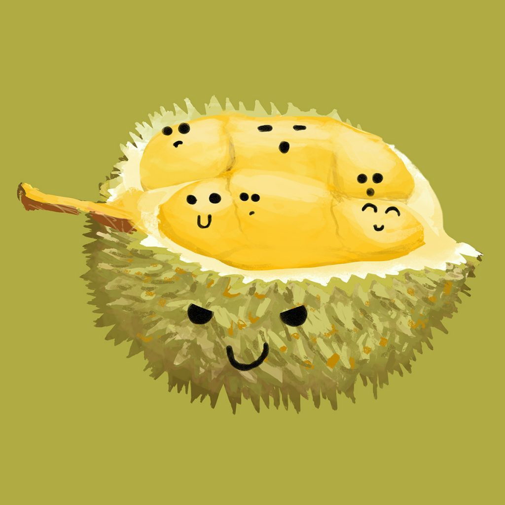 love for durian