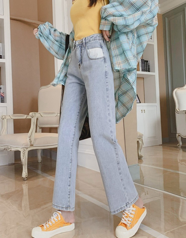 High Waisted  Wide Legged Jeans on sale at EzBuy's Fashion Collection Sale