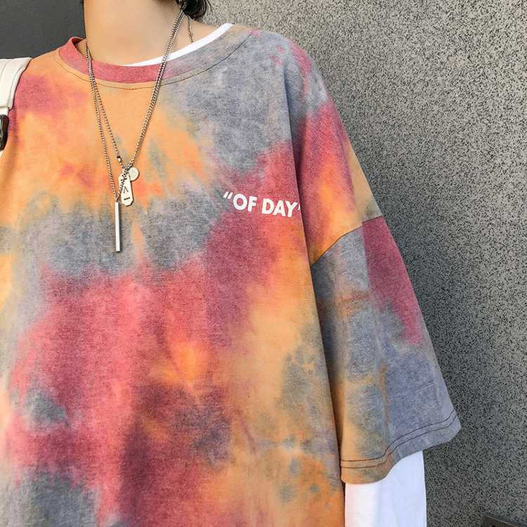 Tie Dye Oversized Shirt on sale at EzBuy's Fashion Collection Sale
